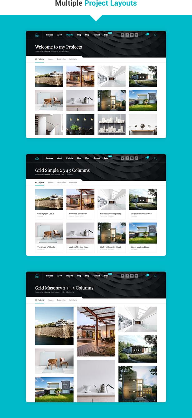 Theme WordPress Hnk phù hợp cho công ty trang trí và thiết kế nội thất (2)