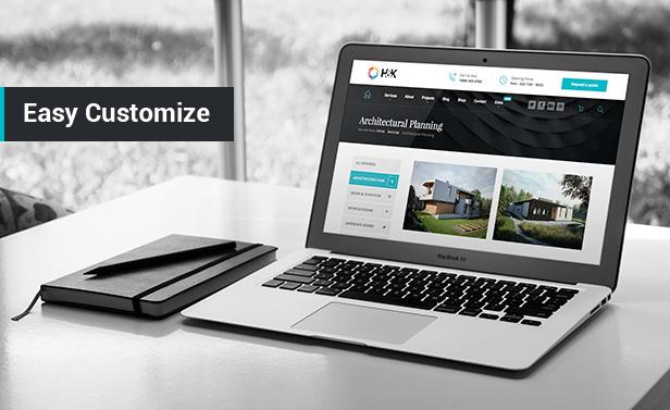 Theme WordPress Hnk phù hợp cho công ty trang trí và thiết kế nội thất