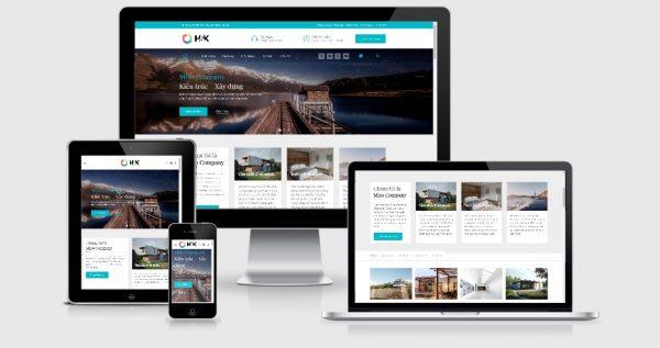 HnK - Theme Wordpress nội thất , xây dựng, kiến trúc bất động sản đẹp