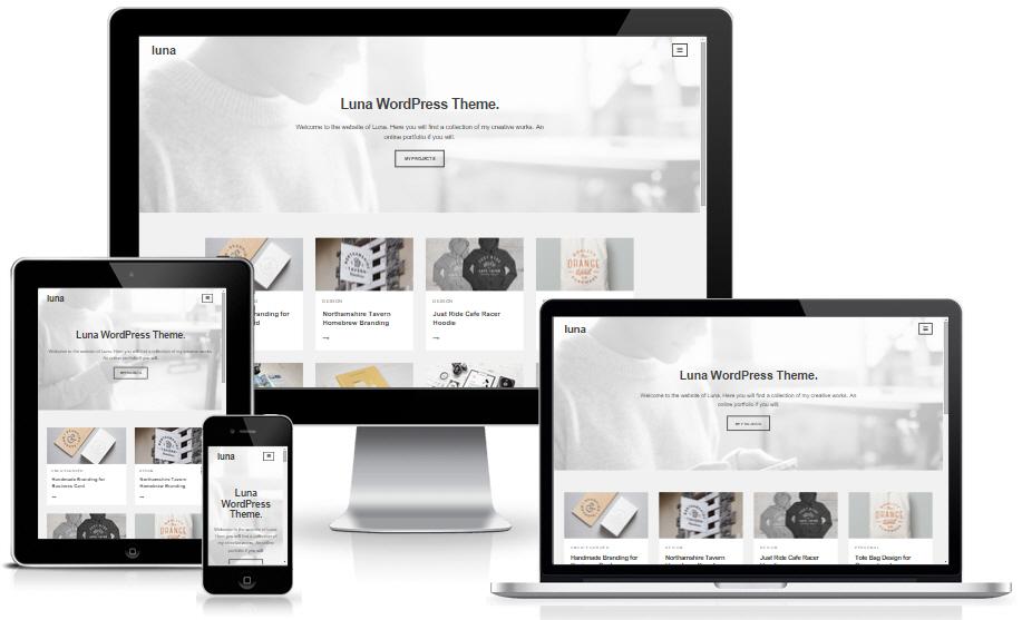 Luna - Theme WordPress làm blog miễn phí