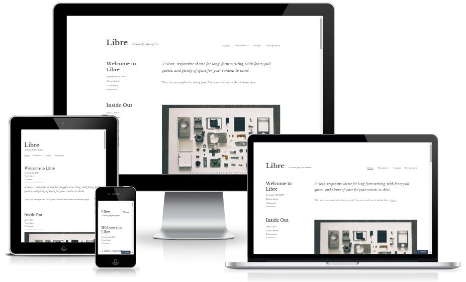 themes WordPress miễn phí tốt nhất - Libre