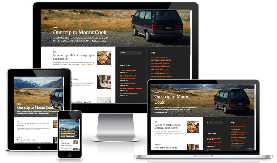 Theme wordpress làm blog miễn phí - Publication