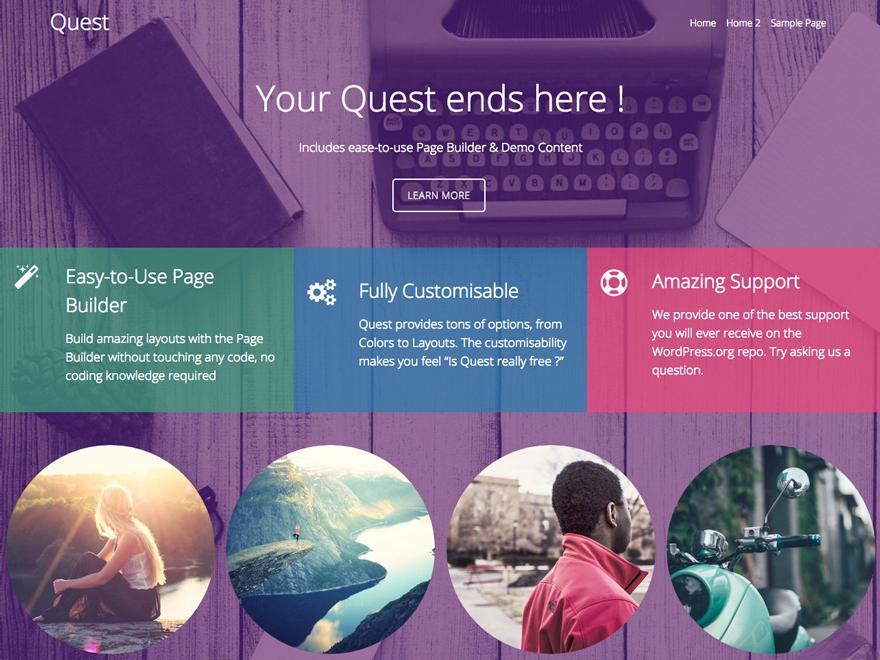 Theme WordPress làm diễn đàn forum miễn phí - Quest-bbPress-Theme