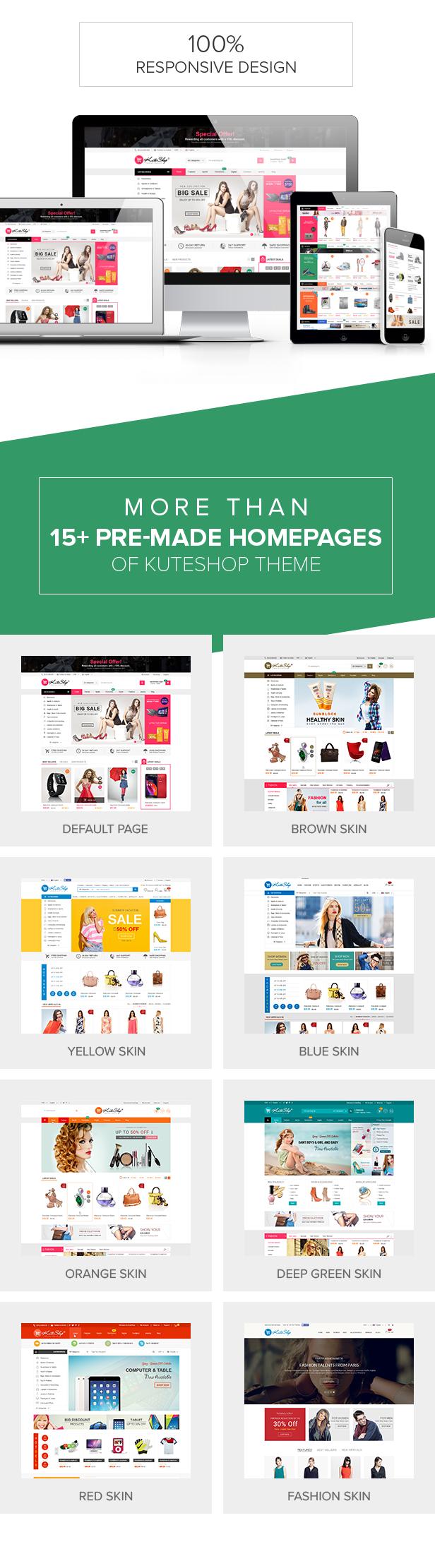 Kute Shop - Theme Shop thời trang cực đẹp