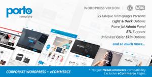Porto - Theme Wordpress bán hàng chuyên nghiệp