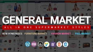 General Market - theme shop bán hàng chuyên nghiệp