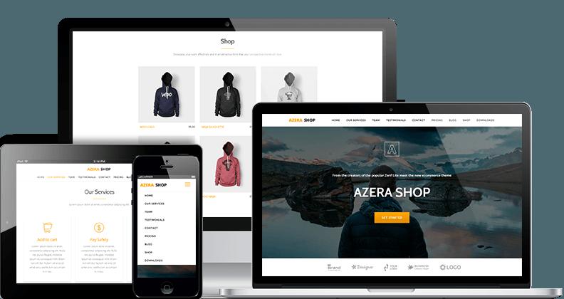Azera Shop – theme wordpress bán hàng miễn phí