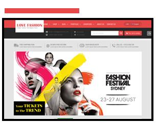 SW Love Fashion - Responsive WordPress Theme shop thời trang