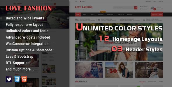 SW Love Fashion - Responsive WordPress Theme shop thời trang (7274)