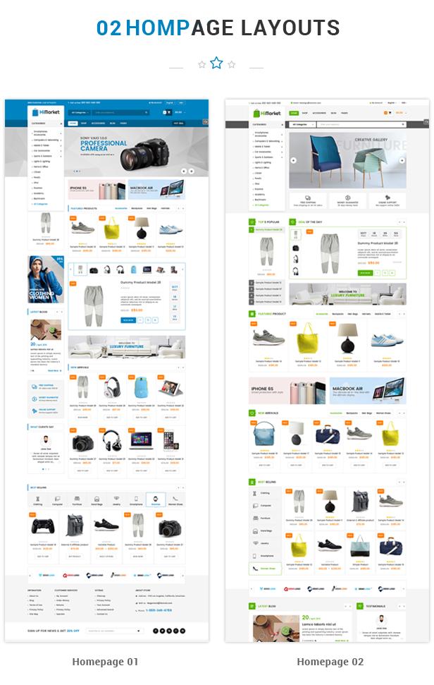 HiMarket - WooCommerce WordPress Theme bán hàng chuyên nghiệp