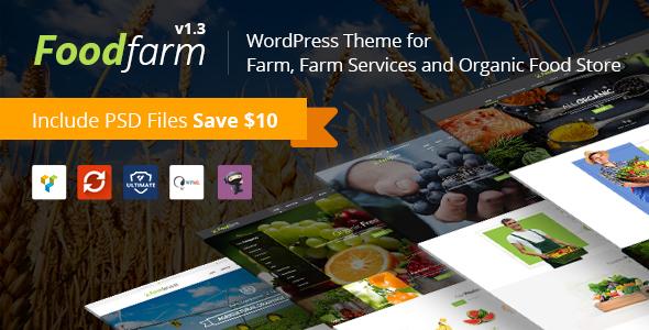 FoodFarm - Theme bán hàng thực phẩm, nông trại, trái cây (4153)