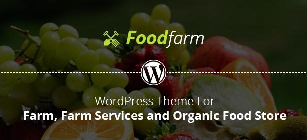 FoodFarm – Theme bán hàng thực phẩm, nông trại, trái cây