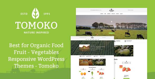 Tomoko - Theme shop trái cây, rau củ quả, thực phẩm sạch (8662)