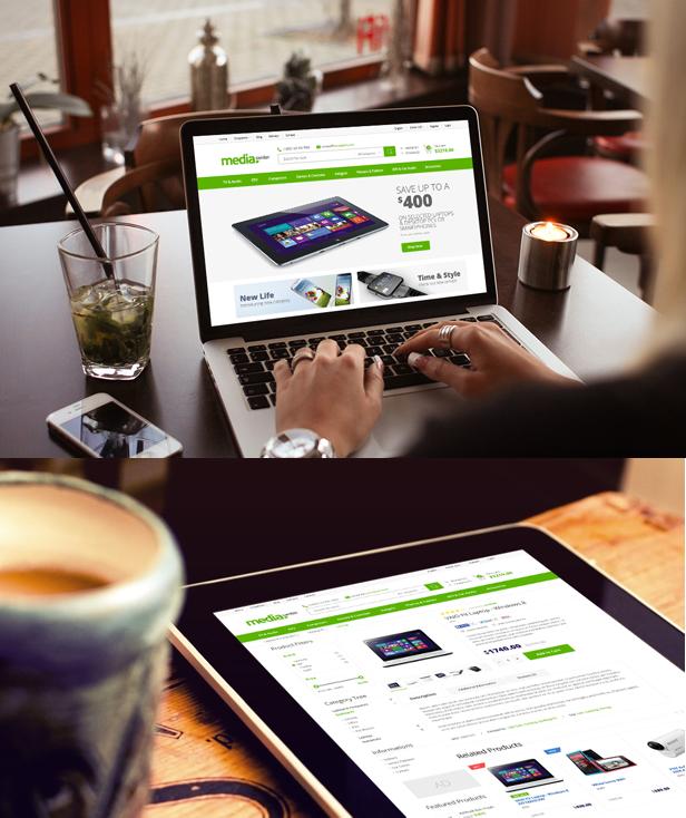 Media Center – Theme wordpress bán hàng điện tử chuyên nghiệp