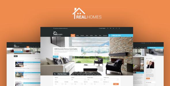 Real Homes - Theme Wordpress bất động sản chuyên nghiệp (6549)