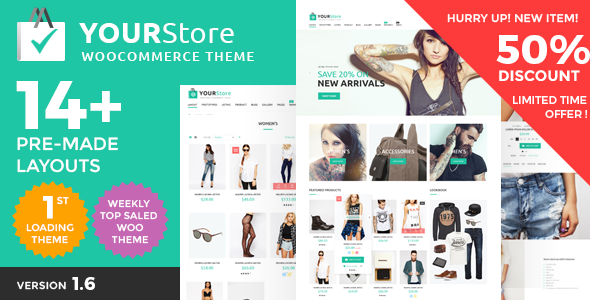 YourStore - Woocommerce theme bán hàng chuyên nghiệp (4758)
