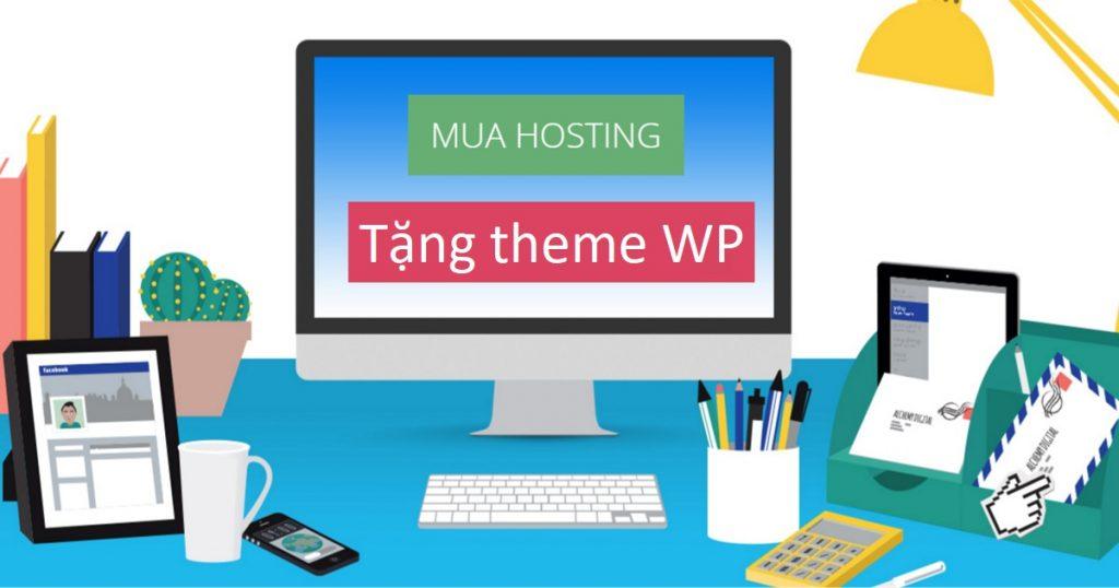 Trọn gói hosting và theme WordPress chỉ từ 780k