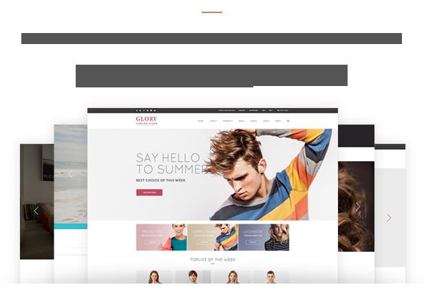 Glory - Theme WordPress bán hàng chuyên nghiệp