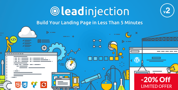 Leadinjection - Theme Wordpress Landing Page tốt nhất (3721)