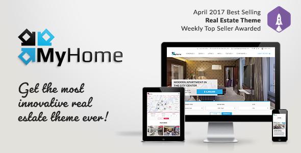 MyHome - Theme Wordpress bất động sản chuyên nghiệp (6919)