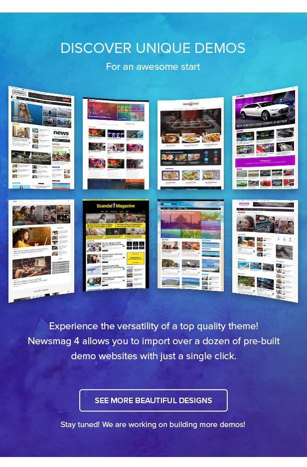 Newsmag Theme WordPress tin tức, magazine, blog chuyên nghiệp