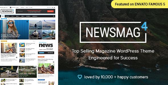 Newsmag Theme WordPress tin tức, magazine, blog chuyên nghiệp (1534)