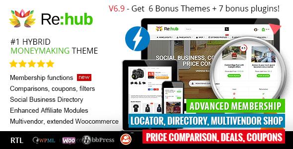 REHub - Theme WordPress chia sẻ coupon, mã giảm giá, web rao vặt (6206)
