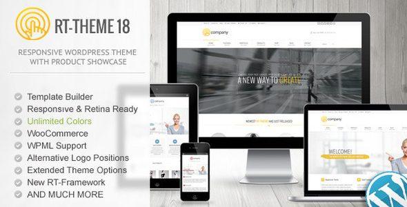 RT-Theme 18 Theme WordPress đa năng (2341)
