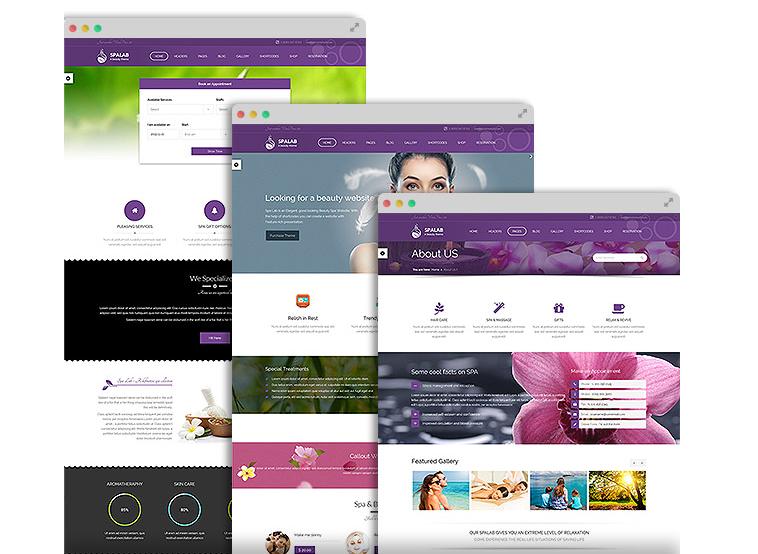 Spa Lab - Theme WordPress Salon làm đẹp, làm tóc, thẩm mỹ viện