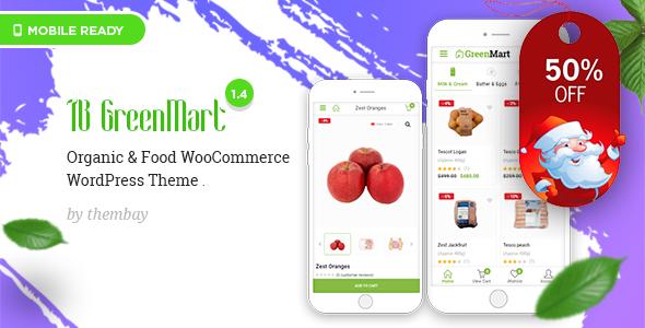 GreenMart - Theme Wordpress thực phẩm (3756)