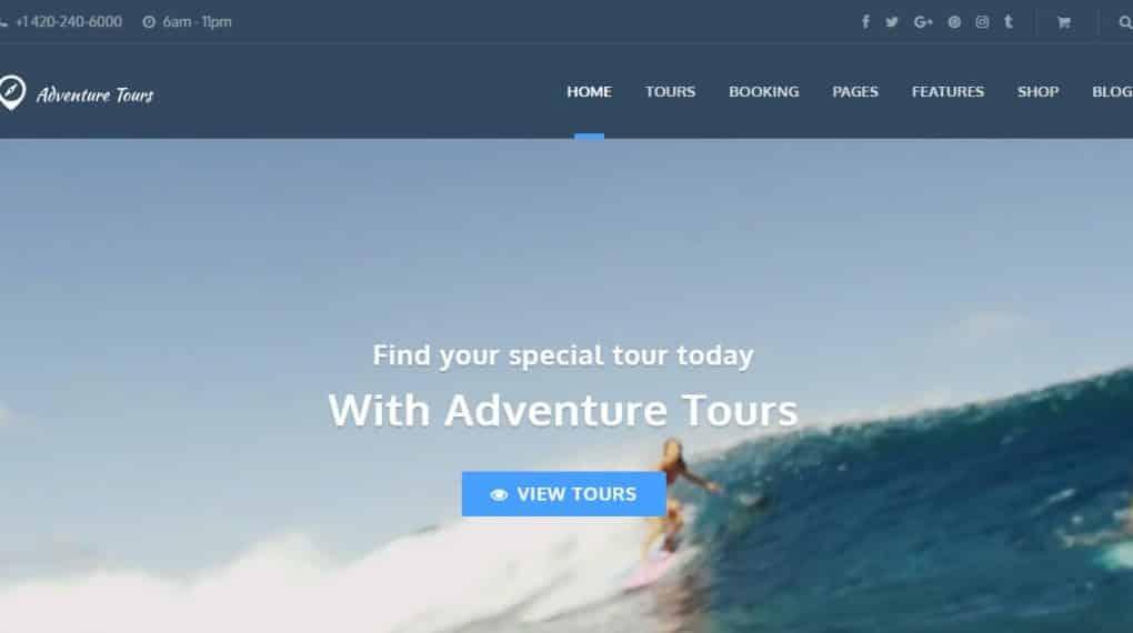 Top 10 WordPress Theme du lịch đẹp nhất 2018