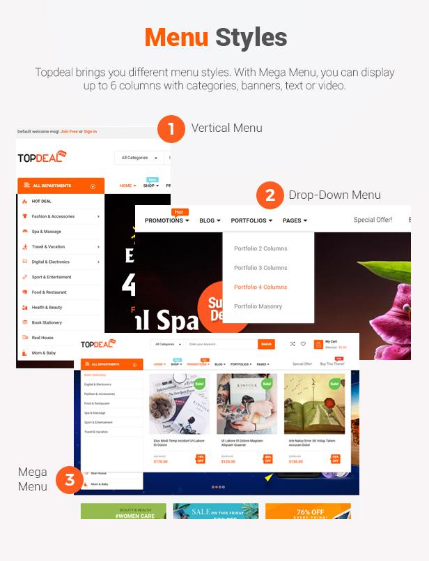 TopDeal - Theme WordPress bán hàng đa năng