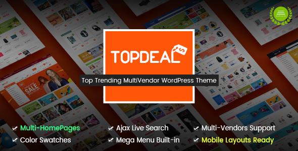 TopDeal - Theme Wordpress bán hàng đa năng (4007)