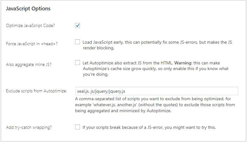 cai-dat-autoptimize Tối ưu và tăng tốc website WordPress với plugin Autoptimize