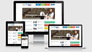 Theme Wordpress giới thiệu công ty dịch vụ kế toán báo cáo thuế