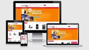 Theme Wordpress thương mại điện tử đẹp - DXT Store