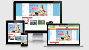 Theme Wordpress thương mại điện tử DXT Store 2