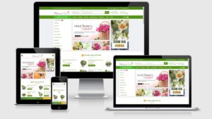 Theme Wordpress shop hoa tươi mẫu số 2 - Giao diện web Wordpress