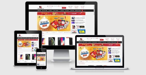 Theme Wordpress bán điện thoại di động, sản phẩm công nghệ