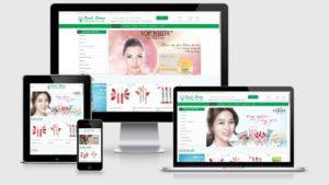 Theme Wordpress bán mỹ phẩm, thực phẩm chức năng XinhStore