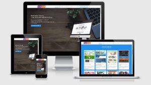 Theme Wordpress công ty thiết kế website