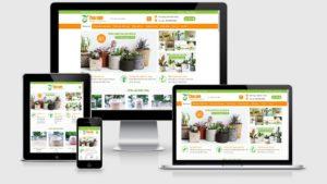 Theme Wordpress bán chậu cây, cây cảnh, cây xanh