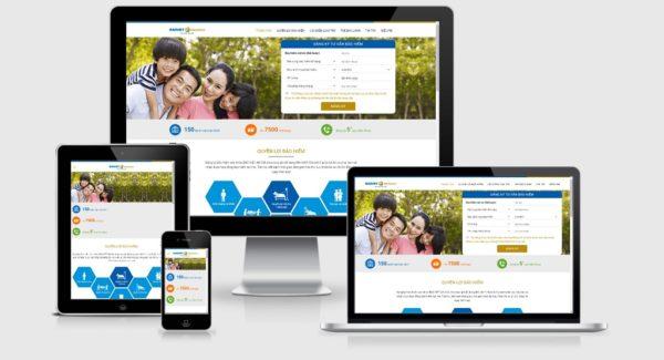 Theme Wordpress giới thiệu công ty bảo hiểm nhân thọ