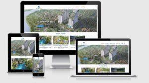 Theme Wordpress giới thiệu công ty bất động sản giống datxanh.vn