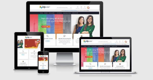 Theme Wordpress giới thiệu công ty tư vấn du học mẫu số 1
