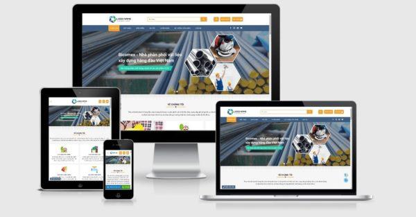 Theme Wordpress công ty xây dựng đẹp tuyệt vời mẫu số 3