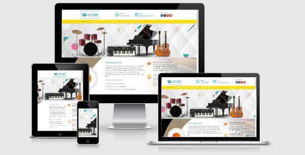 Theme Wordpress trung tâm đào tạo âm nhạc & nghệ thuật
