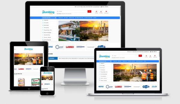 Theme Wordpress bán sơn chống thấm - Vật liệu xây dựng