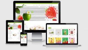 Theme Wordpress trái cây - thực phẩm sạch