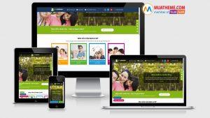 Theme Wordpress giới thiệu dịch vụ bảo hiểm nhân thọ